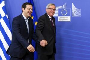 Juncker-Τσίπρα