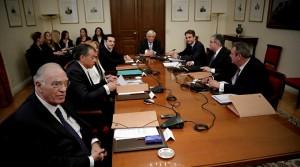Συσκεψη πολιτικών αρχηγών